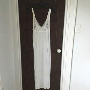 La Perla white nightgown, size S.